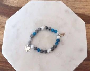 Bracelet Boho autism man