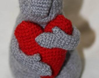 Ждун Почекун Zhdun Zdun gift amigurumi crochet toy