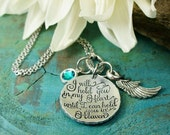 Bereavement baby gift I will hold you in my heart until I hold you in Heaven loss of child Baby Infant loss keepsake stillborn miscarriage