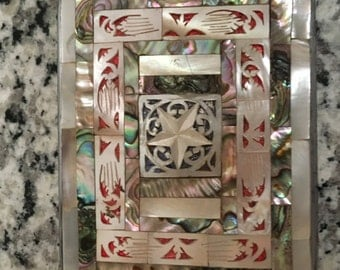 Vintage Mother of Pearl Cigarette Case
