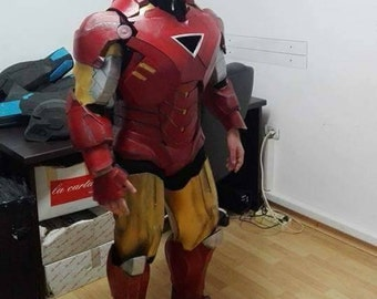 Armor is 4/6/7 from IRONMAN mark cosplay in eva foam