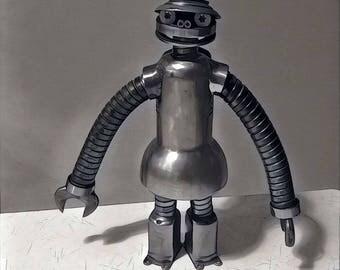 Yoshi the robot
