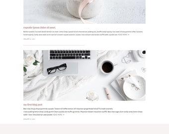 Pre-Made Squarespace Web Design - One Week