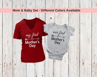 Mommy and me outfits, mom and baby matching outfits, baby and mommy matching clothes, mommy and me shirts, mom and daughter shirts