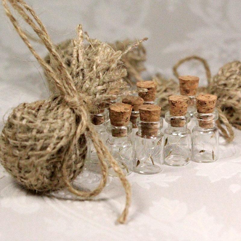 Wish Wedding Favor Bag Dandelion Seeds Favors Flower Seeds