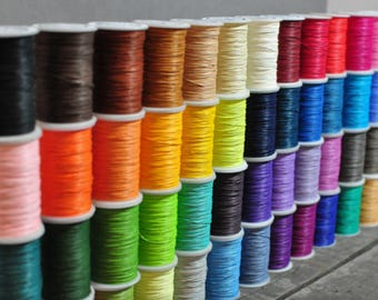 HUA - Snowflake series Waxed Linen Thread 48 Colours