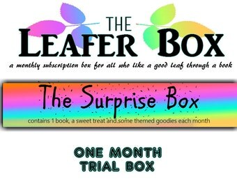 Leafer Box - One Month Trial Book Box - The Surprise Box