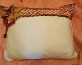 Handmade Hippie Inspired Pillow