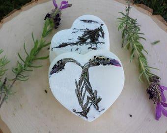 Lavender Fields Organic Bath Bomb