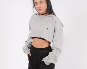 Vintage Ralph Lauren Cropped Sweatshirt