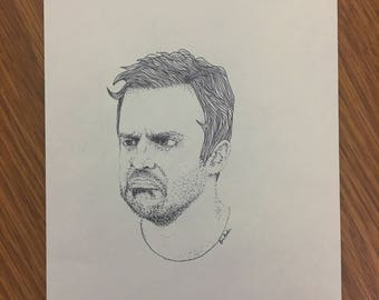 Nick Miller (New Girl) Print