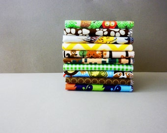 Kids Napkins - Childrens Cloth Napkins - Lunch Box Napkins - Back to School Lunch Napkins - Reusable - Paperless - Gender Neutral - Wipes