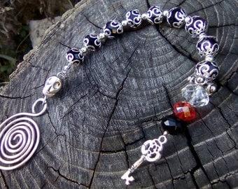 Goddess Hekate prayer beads