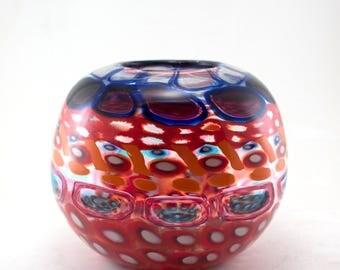 Multi-Colored Murrine Vessel (Medium)