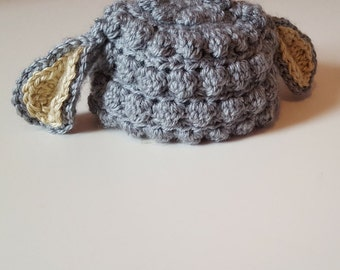 Little Gray Lamb Hat