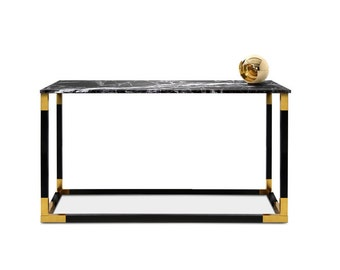 Console Table Keflavik. Entrance Table. Narrow Table. Handmade furniture. Marble furniture.