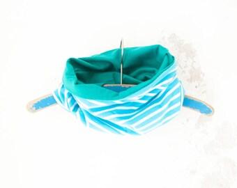 baby circle scarf, baby infinity scarf, organic circle scarf, turquoise circle scarf, spring scarf baby