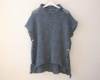 Gray Sweater Tunic