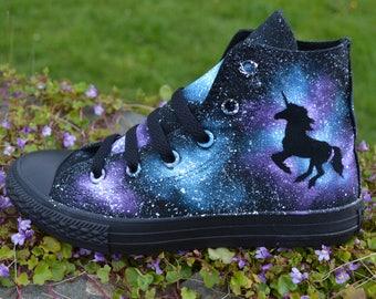 Unicorn Converse, Unicorn Gift, Unicorn Fashion, Unicorn Cosplay, Unicorn Party, Unicorn, Unicorn Shoes, Galaxy Unicorn, Dark Unicorn