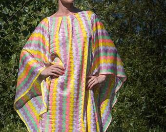 Boho Dress Chevron, summer dress, kimono dress, maxi dress, caftan, boho, maxi summer dress, oversized dress, caftan, Festival Dress, dress
