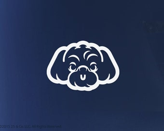 Peekapoo, Pekepoo Dog Vinyl Decal | Car Sticker, Decoration | 25 & Co