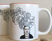Mug et carnet Frida Kahlo