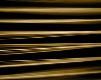 Fine Art Photography, Abstract Art, Macro Photography, Wall Art, Home Decor, Office Decor, 5 x 5 Print, Glass Table Edge, Gold, Black