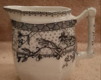 Antique Transfer Ware Pitcher
