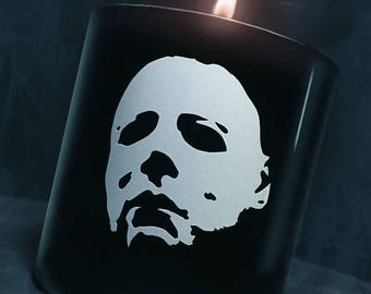 Pumpkin Pecan Awfuls Scented Halloween Candle - Horror Decor
