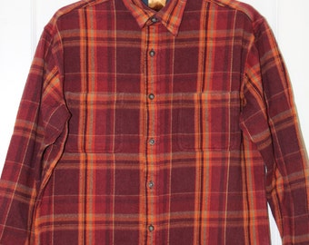 Vintage Flannel Shirt - Size Large Tall