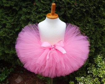 Pink Tutu, Sewn Tutu, Birthday Tutu, Pink Birthday Tutu, Newborn Tutu, Cakesmash Tutu, Recital Tutu, Baby Tutu, Toddler Tutu, Pink Skirt