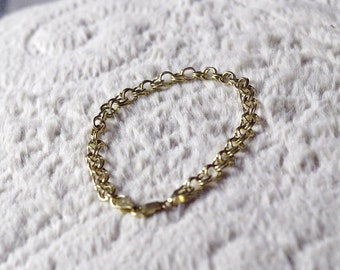 14KT Gold Charm Bracelet - Beautiful!