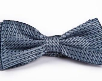 BOW TIE Silk Bow Tie Pure Silk Blue Bow Tie neck tie bow ties mens ties bow ties for men boys bow ties ties online