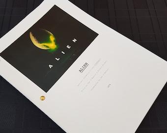 Alien Film Script Movie Unique Gift
