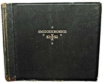 Danish Songbook Melodiboken for Missjonssangboken Verden for Kristus Indremissjonsselskapets sangbok ca. 1920