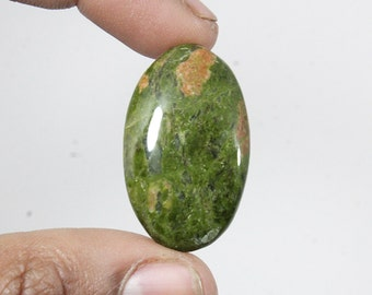 Unakite Cabochon 48Ct. (34x20x6 mm) Oval Shape Natural gemstone NS-9285