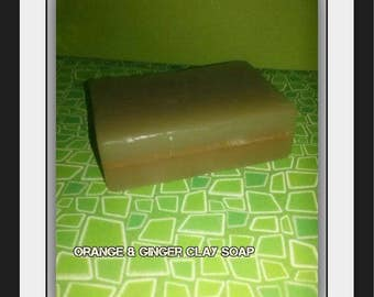 Ginger & Orange Clay Soap