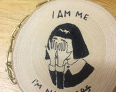 Self Valentine's wood: I am not perfect