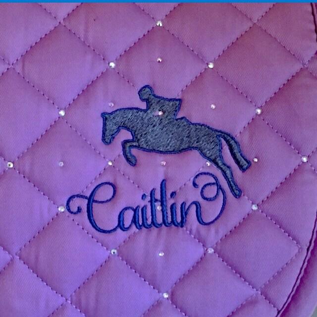 personalized saddle pads horse halters  u0026 dog by tastefullytacke