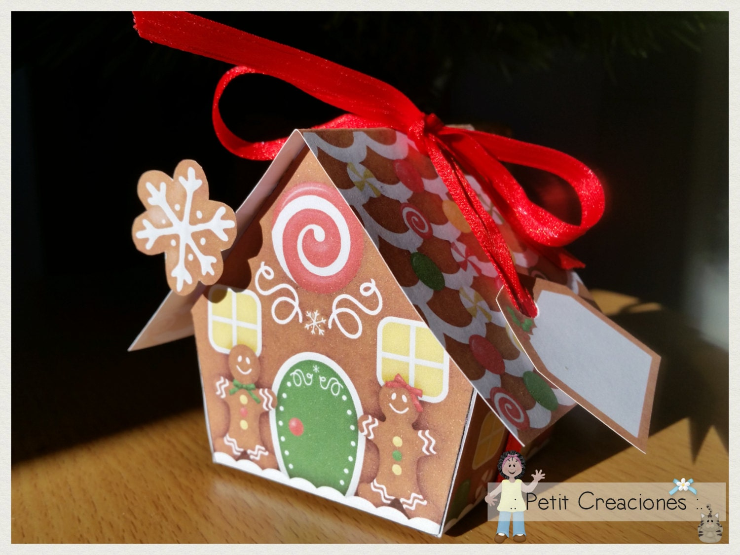 Gingerbread Kitchen Curtains Gingerbread House Etsy