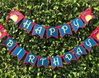 Snow White Happy Birthday Banner Snow White Princess Birthday Party Decor Snow White Banner Disney Princess Birthday Party Happy Birthday