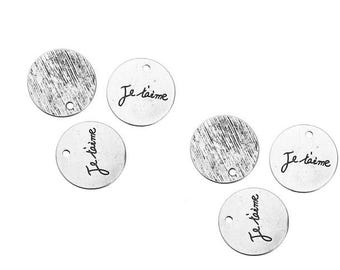 10 charms I love 20mm