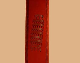 Leaning Tower of Pisa hanging lamp