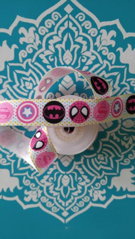 Basket Making Supplies North Carolina : Superhero ribbon grosgrain bow making supplies
