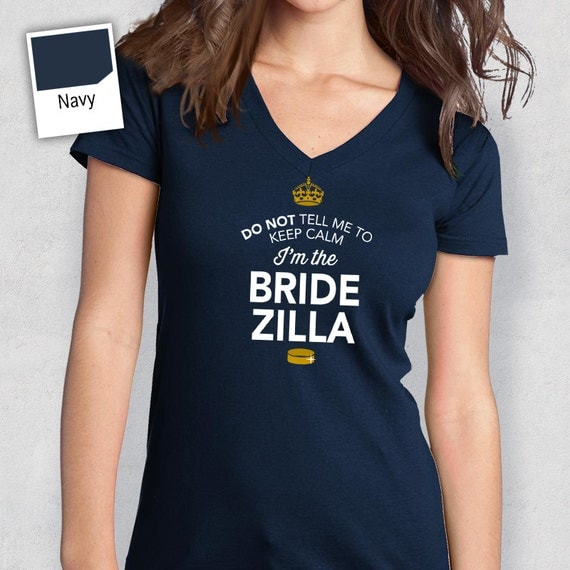 Bridezilla Bride To Be Getting Married Bride Shirt Funny