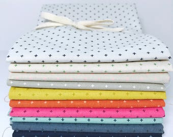 Fat Quarter Bundle Add it Up Basics by Cotton and Steel- 11 Fabrics