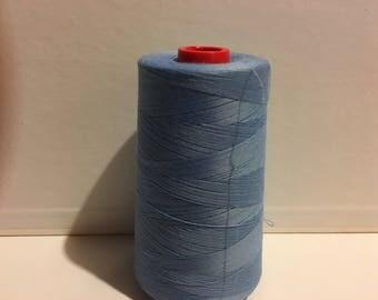 Coats Epic polyester corespun tex 30 6000 yds thread soft windjammer-blue
