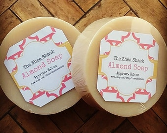 Almond Soap (Vegan)
