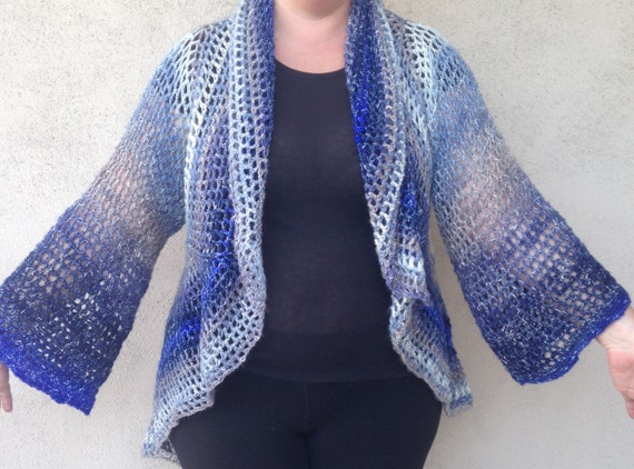 Crochet Pattern Jacket Circle Jacket Pattern Pdf Pattern