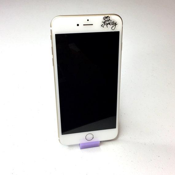 Sculture Desktop Smartphone Stand   Cell Phone Holder   3D Printed